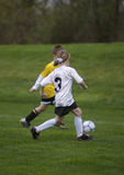 Youth Soccer. Children Playing at a Youth Soccer Game Stock Images