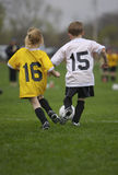 Youth Soccer Game. Youth Soccer Stock Images