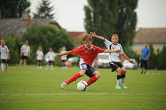 Youth soccer Royalty Free Stock Image