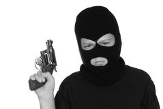 Youth theif and robber Royalty Free Stock Image