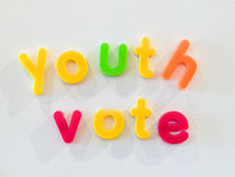 Youth vote concept Royalty Free Stock Images