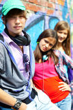 Youthful friends Stock Images