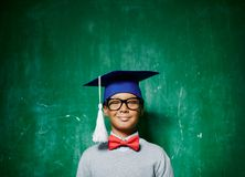 Youthful graduate Stock Images