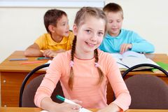 Youthful learner Royalty Free Stock Image