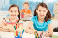 Youthful learners Royalty Free Stock Photo