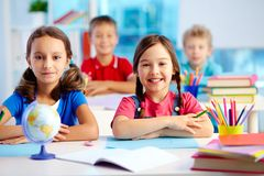 Youthful learners Royalty Free Stock Photos