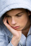 Youthful man is bored Stock Photos