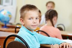 Youthful pupil Royalty Free Stock Image