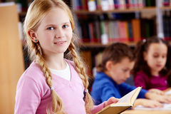 Youthful reader Stock Photography