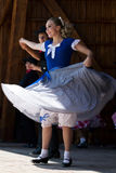 Youths from California show a specific folk dance 5 Stock Image