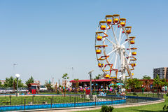 Youths Public Amusement Park View Royalty Free Stock Photo