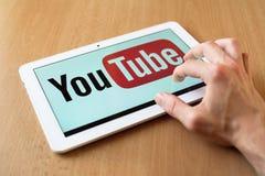 YouTube Стоковое Изображение RF
