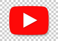 youtube apk ikona obraz stock