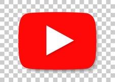 youtube apksymbol fotografering för bildbyråer