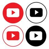 YouTube zdjęcia stock