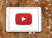 YouTube logo Arkivfoto