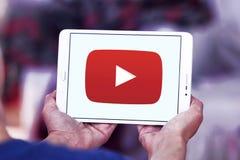 Youtube logo Stock Image