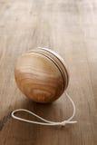 Yoyo de madeira Foto de Stock