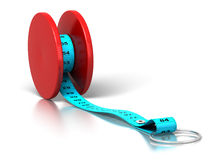 Yoyo effect - weight loss - diet Royalty Free Stock Images