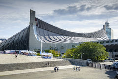 Yoyogi National Gymnasium Stock Images