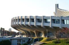 Yoyogi National Gymnasium in Tokyo, Japan. Exterior of Yoyogi National Gymnasium in Tokyo, Japan Stock Photo