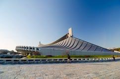 Yoyogi National Gymnasium, Tokyo, Japan. Yoyogi National Gymnasium in Harajuku, Tokyo, Japan Stock Photo