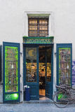 Ypical absinthe bar on Jilska Street in Prague Royalty Free Stock Images