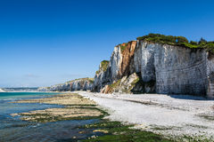 Yport Cliffs Stock Images