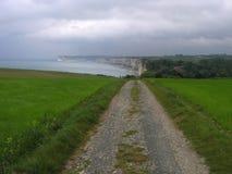Yport Normandia, Francia Fotografia Stock