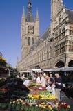 Ypres België royalty-vrije stock foto's