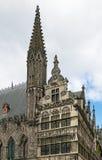 Ypres Cloth Hall, Belgium Royalty Free Stock Photos