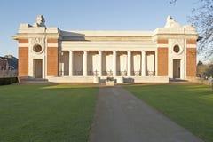 Ypres: De poort van Menin Stock Foto