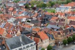 Ypres twee schuine standverschuiving royalty-vrije stock afbeelding