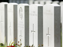 Ypres Tyne Cot Royalty Free Stock Photo