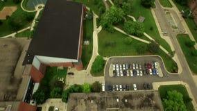Ypsilanti Aerial stock footage