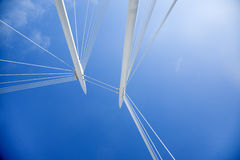 Ypsilon Brücke Stockbild