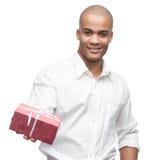 Ypund black man Royalty Free Stock Photos