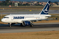 YR-ASD TAROM , Airbus A318-111 Royalty Free Stock Photography