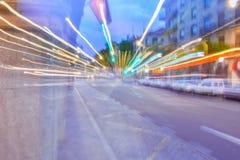 Yr känsla på gatan, når att ha festat fotografering för bildbyråer