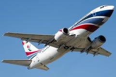 YR-TIB Air Bucharest , Boeing 737-3L9 stock images