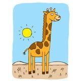 Żyrafa royalty ilustracja