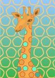 żyrafa punkt Zdjęcie Stock