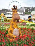 Żyrafa w krainie cudów, Korea Fotografia Stock