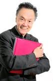 Yrkesmässig affärskonsulent för pensionerad man arkivfoto