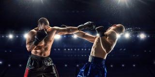 Yrkesmässig askmatch Blandat massmedia Royaltyfria Bilder