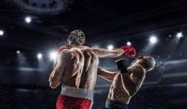 Yrkesmässig askmatch Blandat massmedia Royaltyfri Foto