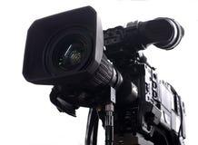 Yrkesmässig digital videokamera Royaltyfria Bilder