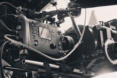 Yrkesmässig digital videokamera Arkivfoto