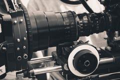 Yrkesmässig digital videokamera Royaltyfri Fotografi