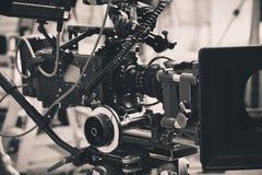 Yrkesmässig digital videokamera Fotografering för Bildbyråer